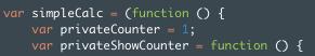 Javascript module