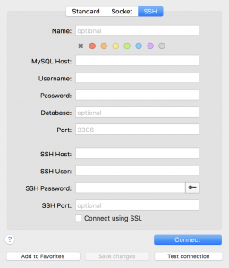 Connecting to a remote database via Sequel Pro
