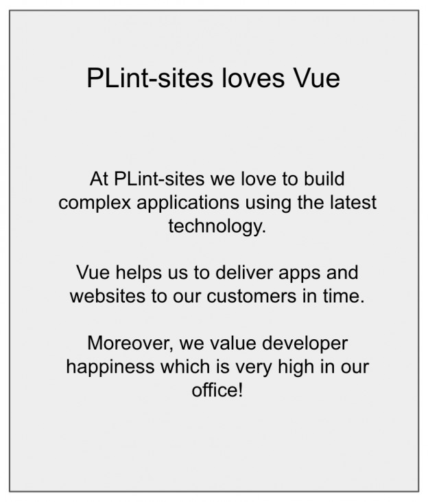 Creating a product configurator with Vue - PLint-talk